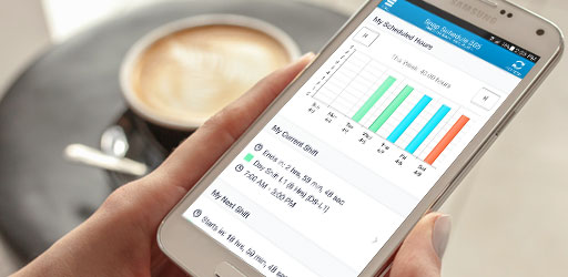 Employee scheduling mobile app